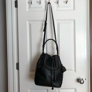 Madewell drawstring transport tote/bucket bag